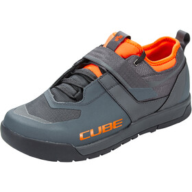 Cube GTY Strix kengät, grey'n'orange